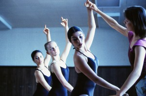 Instructor Leading Ballet Class June 2001